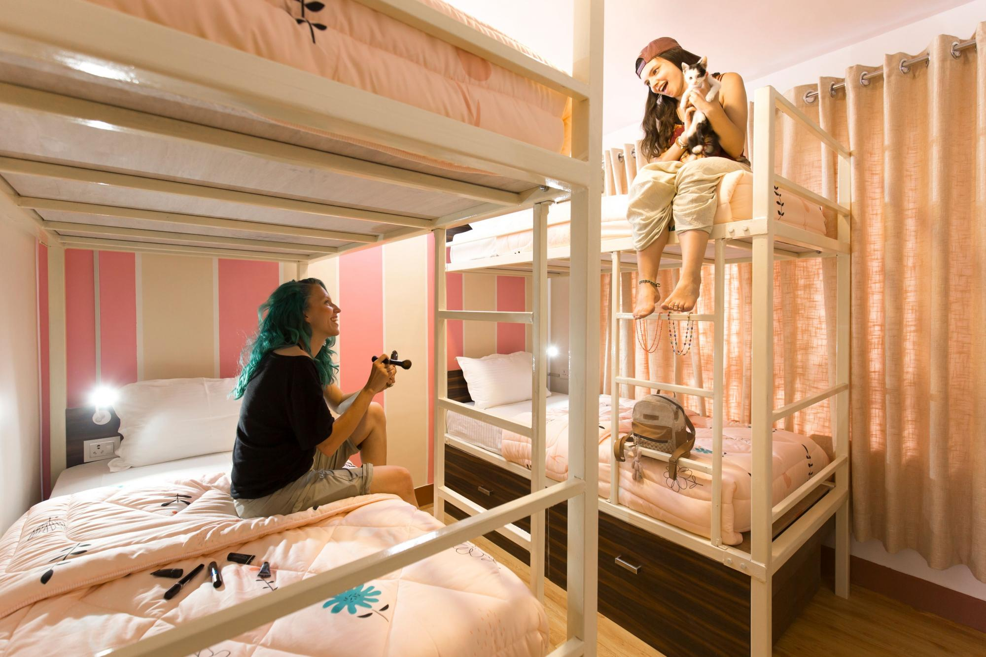 Bunk bed partners can be your best pals while hostelling.