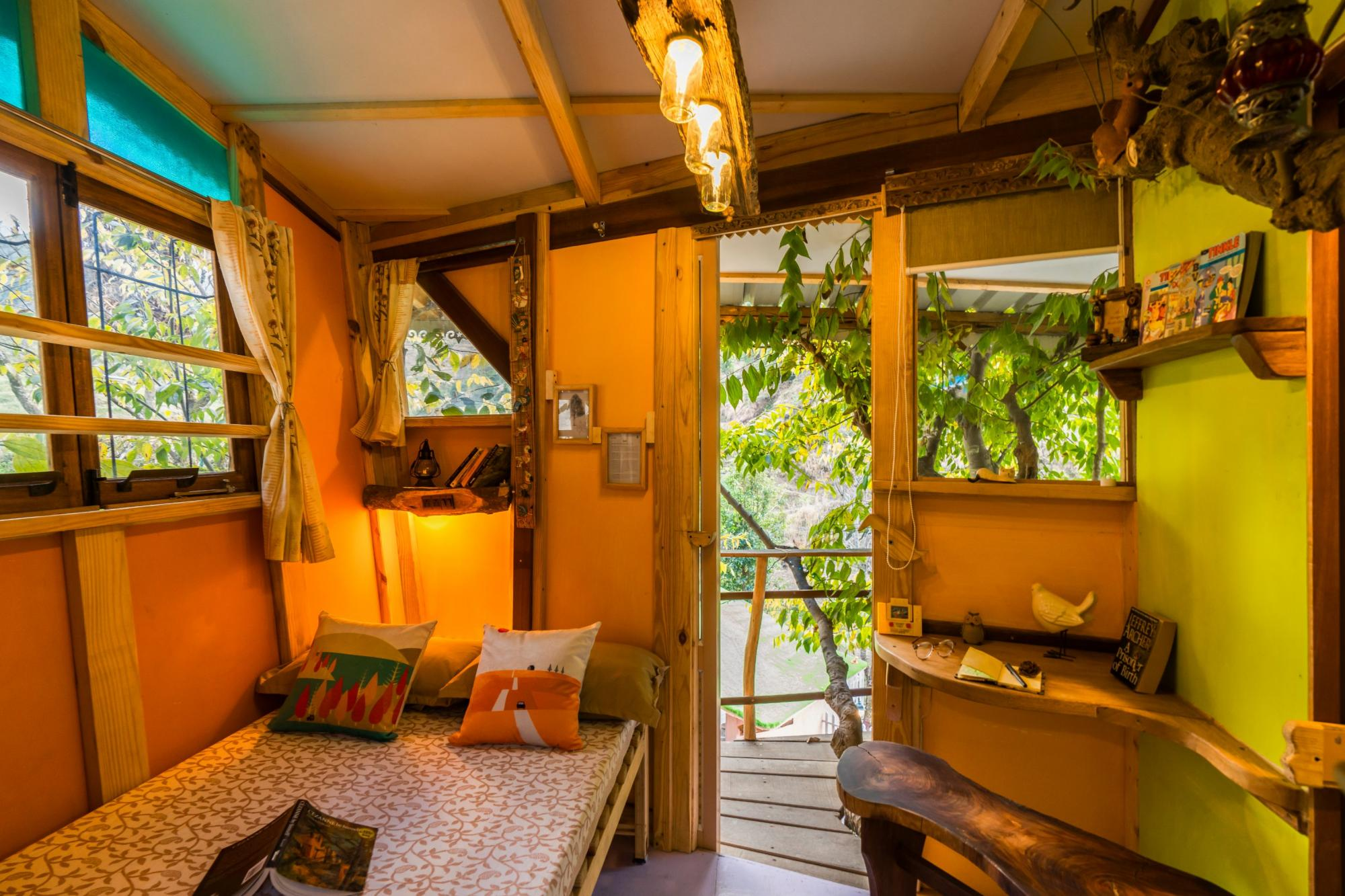 Private Treehouse cottage in Mussoorie, Uttarakhand
