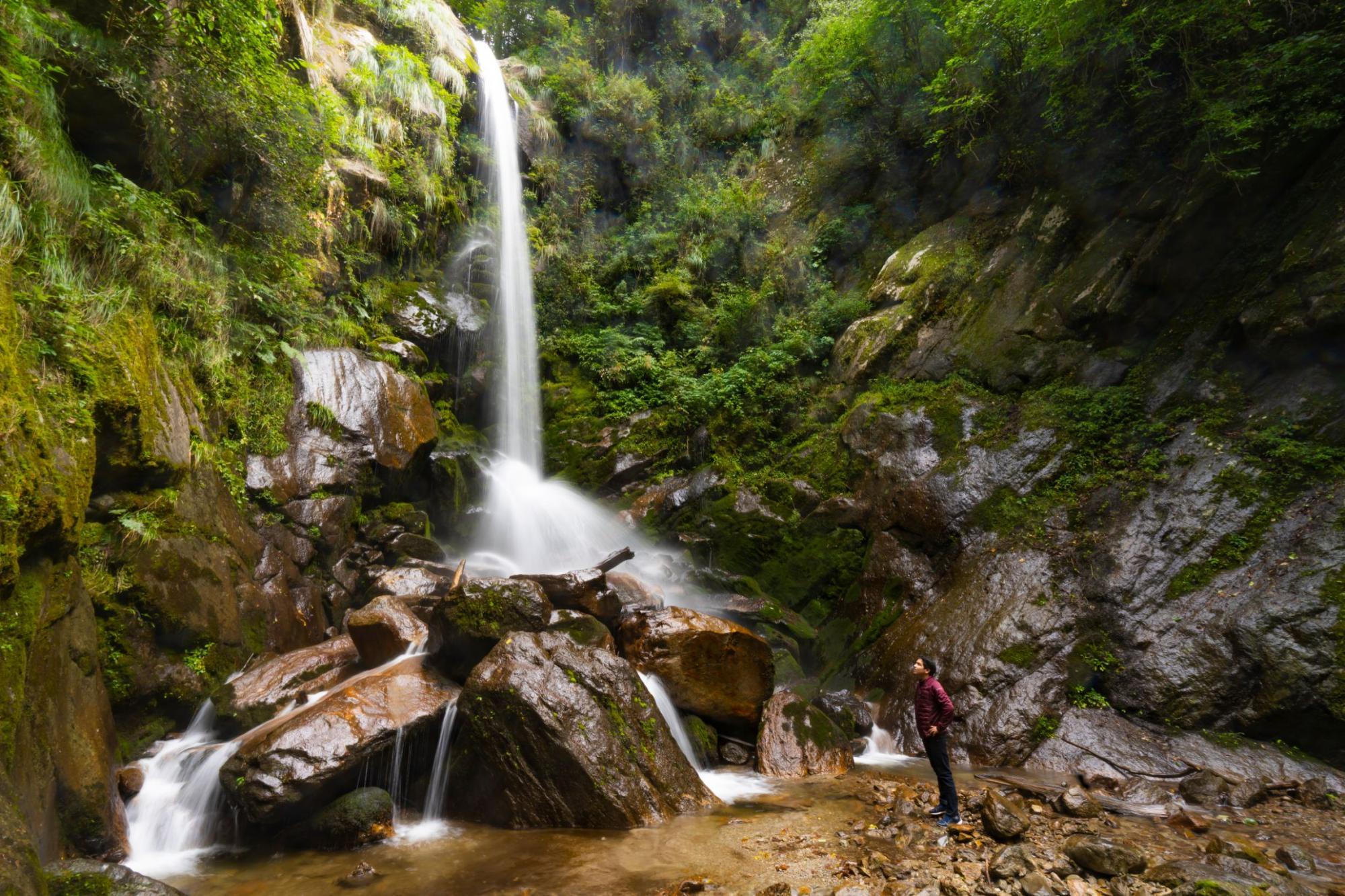 Barshargarh Falls in Shangarh