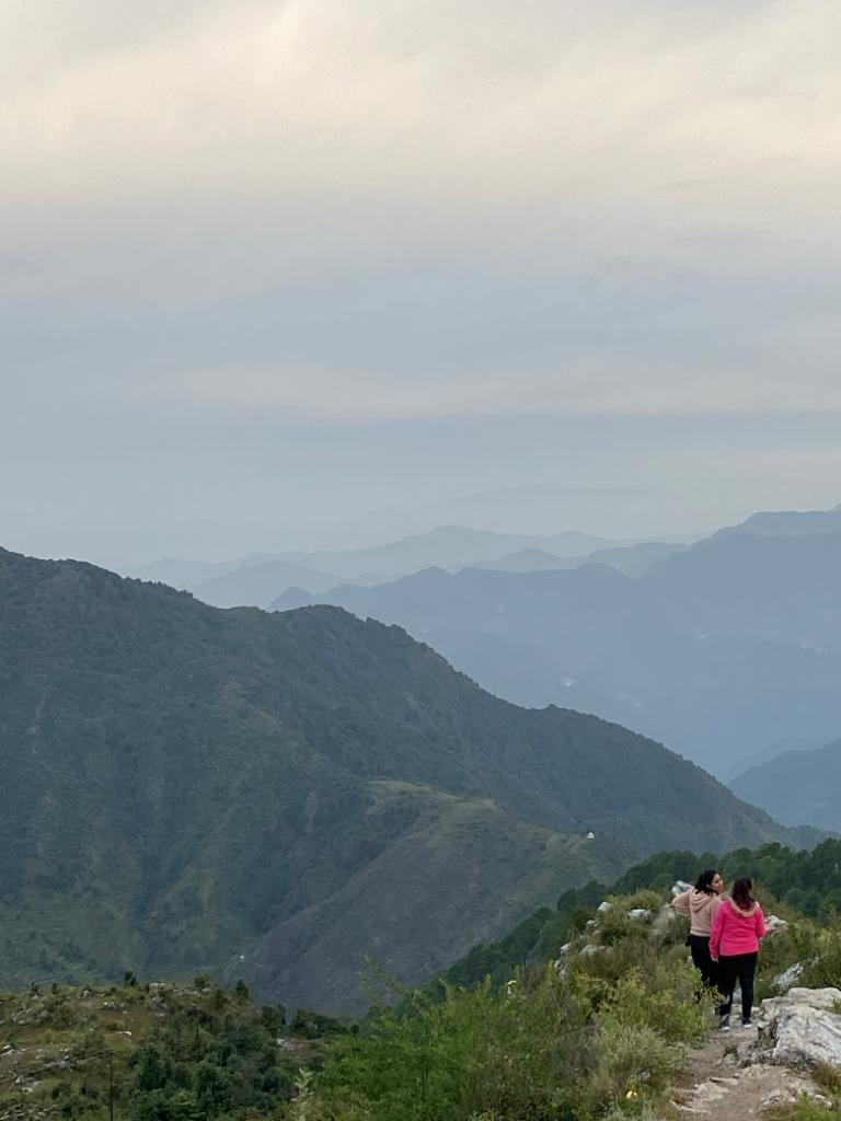 Hike to Dalai Hills of Mussoorie