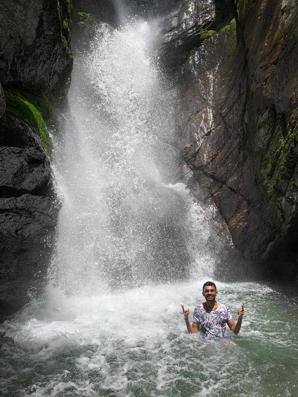 Hidden Waterfall in Bir Billing, Himachal Pradesh