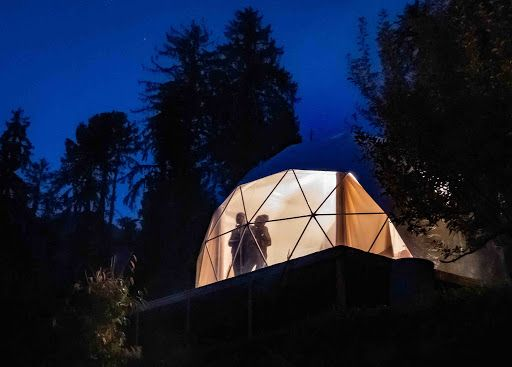 Glampeco Geodesic dome in Hamta Valley of Himachal Padesh