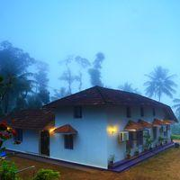 Early morning at Coorg hostel