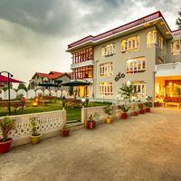 Entrance of Zostel Srinagar