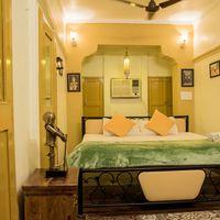 Standard private room at our hostel in Jodhpue