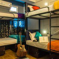 The cosy mixed dorm that sleeps 6.