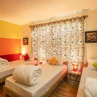 3-bed female dorm in Srinagar hostel