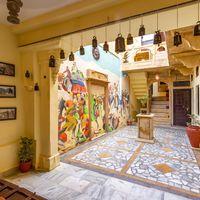 Courtyard of Jaisalmer Zostel