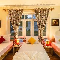 Triple bed room in Zostel Srinagar