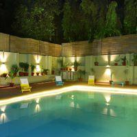 We've got a swimming pool!