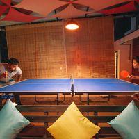 Enjoy one of your evening playing ping pong