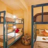 Bunk Beds in our hostel dorm in Jaisalmer