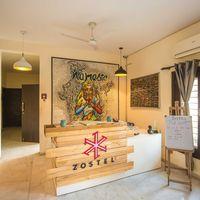 Reception of Zostel South Delhi