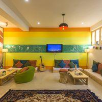 Hostel Tv room