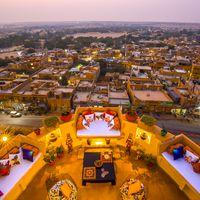 City view from Zostel Jaisalmer