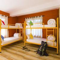 The spacious 6-bed ensuite dorm.