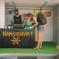 Namaskaram from the front desk!