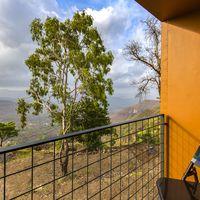 Krishna valley view from Zostel Panchgani